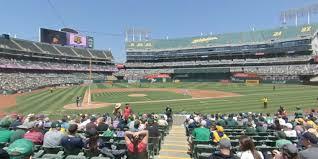 Ringcentral Coliseum Section 114 Oakland Athletics