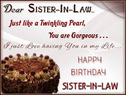Beautiful Birthday Quotes For Sister In Law Best Of Birthday Wishes For Sister In Law Messages Quotes WishesMsg
