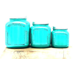 kitchen glass canister canisters
