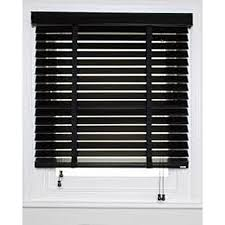 wooden window blinds. Wooden Window Blinds - Black ( Lagos Only)