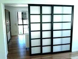 room divider doors sliding door room