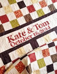 Wedding Quilt Patchwork Monogram Name Quilt- Custom Made- Perfect ... & Wedding Quilt Patchwork Monogram Name Quilt- Custom Made- Perfect Wedding  or Houswarming Gift- Adamdwight.com