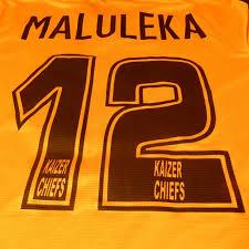 Maluleka Catawiki Chiefs - Shirt A 2014 Signed 2013 Kaizer By Home Season