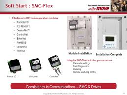 industrial control motor overload protection alarms monitoring 51 soft start smc flex