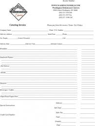 Get Catering Invoice Sample Template Free Catering Service Invoice ...