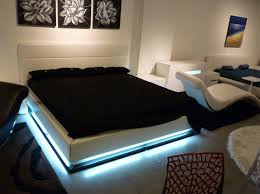 modern platform beds with lights. Exellent Beds Contemporary Platform Bed With Lights Throughout Modern Beds
