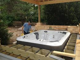 patio designs with fire pit and hot tub. Patio Design Ideas With Hot Tub Firepit And Decking For Tubs Interior Decor Intended Deck Designs Fire Pit