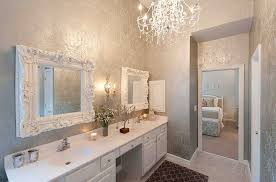 perfect way to use metallic silver in the bathroom by heather odonovan interior design bathroom decor designs pictures trendy