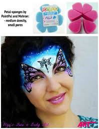 face painting beginners sponges