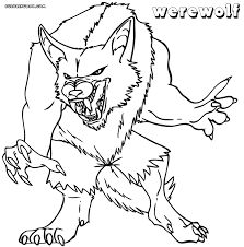 Small Picture Werewolf coloring pages Coloring pages to download and print