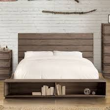 Rustic platform beds with storage Farmhouse Rustic Coimbra Rustic Natural Tone Queen Storage Platform Bed Main Image 1stopbedrooms Furniture Of America Coimbra Rustic Natural Tone Queen Storage