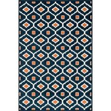 popular of navy outdoor rug oasis orange candelabra inc blue and white striped full size