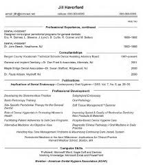 Gallery Of Dental Hygiene Resume Example Latest Resume Format