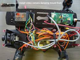 installing the fpv system in a fpv racing quadcopter Wiring A Cc3d To Quadcopter mounting the radio transmitter and fat shark fpv transmitter to the upper deck CC3D Flight Controller Wiring Diagram