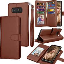 galaxy note 8 case note 8 wallet case samsung galaxy note 8 pu leather case tekcoo luxury cash credit card slots holder carrying flip cover detachable