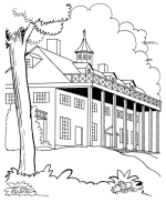 Small Picture Historic US Symbols and Places Coloring Pages US Historic Places