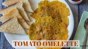 tomato omelette veg omelette recipe