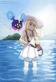 Lillie and Nebby - Pokemon Sun and Moon by Arabesque91 on DeviantArt