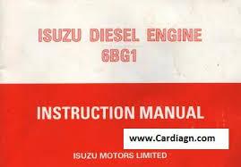 isuzu diesel engine 6bg1 instruction manual pdf isuzu diesel engine 6bg1 service manual