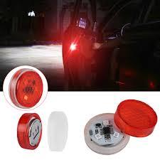 Prius Pcs Light Calap Store 2 Pcs Universal Car Door Warning Red Light