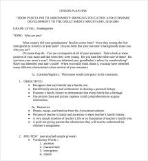 lesson plan template for kindergarten kindergarten lesson plan template word lesson plan template in 2018