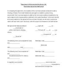 Roommate Contract Template Agreement Alberta Rental – Bonniemacleod