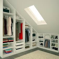 Sloped Roof Bedroom Ikea Walk In Wardrobe Sloped Roof Google Search Loft Wardrobes