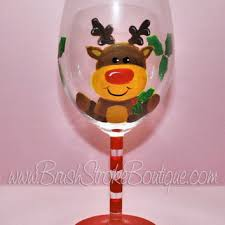 Wine Glass Decorating Designs Shop Hand Painted Wine Glass Designs on Wanelo 46