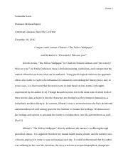 litr american literature since the civil war 3 pages litr221 essay 1