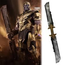 <b>Endgame Thanos Double Edged</b> Sword Weapon Detachable ...