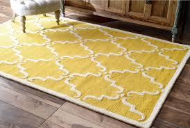 yellow nuloom luna marrakesh trellis wool rug from