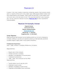 Music Teacher Resume Cover Letter Musician Resume Template Sample Music Cover Letter Musical Teacher 41
