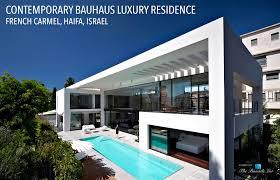 Contemporary Bauhaus Luxury Residence French Carmel Haifa