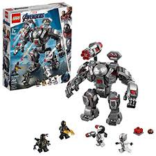 Amazon.com: LEGO <b>Marvel</b> Avengers War Machine Buster 76124 ...