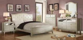 Silver Bedroom Furniture Furniture Of America Cm7282ek Cm7282n Cm7282d Cm7282m Adeline