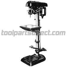 drill press parts. delta 17-210 17\ drill press parts