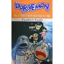Sách ] Doraemon Tập 3: Nobita Thám Hiểm Vùng Đất Mới (Tái Bản) giảm chỉ còn  18,000 đ