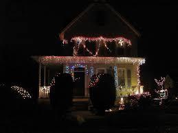 White Or Colored Christmas Lights On House Tasteful Christmas Lighting Oldhouseguy Blog