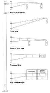 Hapco Light Pole Traffic Signal Mast Arm Pole