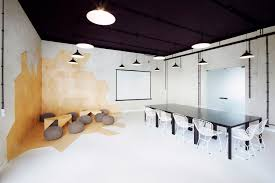 Meeting Room Wall Design Industrial Style Apartment With Meeting Room