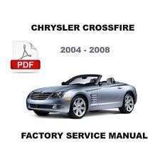 chrysler crossfire repair manual 2004 2008 chrysler crossfire factory service repair manual wiring diagram