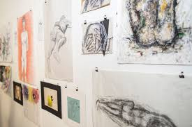 in pictures art and design students show off work at studio  first year extended diploma art and design students hosted an exhibition of their work in studio 11 this week