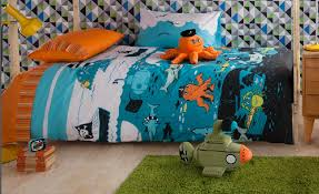 boys single quilt cover sets