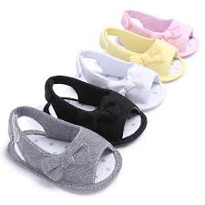 2018 Summer Shoes For Baby Girl Cotton Prewalking Shoes Crib Walker ...