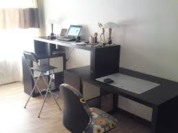 cool home office ideas mixed. Exellent Mixed Workspace Cool Home Office With Ikea Expedit Desk For On Ideas Mixed O
