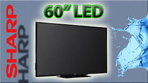 sharp 60 inch smart tv. sharp aquos 60\ 60 inch smart tv youtube