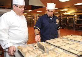 Navy Cook A Chef Teaches A Sailor To Cook Fish Norfolk Dec 3 201
