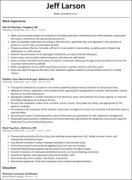 Resume For Lab Technician With No Experience Cover Letter Samples