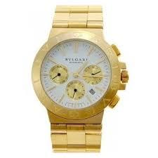 bvlgari classic chronograph full 18kt gold white gold m bvlgari classic chronograph full 18kt gold white gold men watches