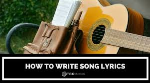 Song lyrics generator have fun writing lyrics and experimenting with different musical styles. How To Write Song Lyrics In 5 Simple Steps Tck Publishing